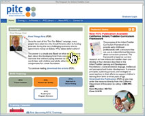 screenshot of https://www.pitc.org