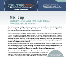 Cover for Mix It Up: Blended Strategies for High-Impact Professional Learning
