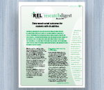 Cover image REL Research Digest: November 2015