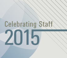 Celebrating Staff in 2015