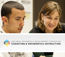 Logo for the National Center on Cognition and Mathematics Instruction's conference