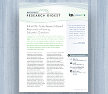 Cover REL West Research Digest: February 2016