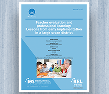 Cover Teacher Evaluation and Professional Learning — Lessons From Early Implementation in a Large Urban District