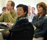 Group of adults in professional development setting