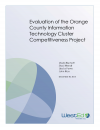 Cover for Evaluation of the Orange County Information Technology Cluster Competitiveness Project
