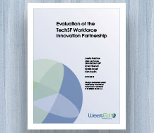 Cover Evaluation of the TechSF Workforce Innovation Partnership