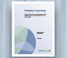 Cover ProMatch Case Study — Successful Practices and Strategies to Build English Learnerss' Job Readiness and Job Search Skills