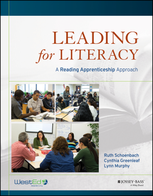 Cover for Leading for Literacy: A Reading Apprenticeship Approach