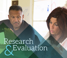 Blog graphic for Research & Evaluation