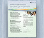 Strategies to Identify and Support English Learners With Learning Disabilities: Review of Research and Protocols in 20 States