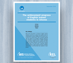 Cover for Achievement Progress of English Learner Students in Arizona