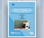Cover for Teacher Demographics and Evaluation: A Descriptive Study in a Large Urban District