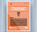 Cover for Scaling Academic Planning in Community College: A Randomized Controlled Trial
