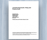 Cover Juvenile Drug Courts: Policy and Practice Scan