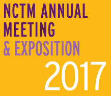 NCTM Annual Meeting and Expo 2017