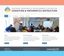 National Research and Development Center on Cognition and Mathematics Instruction