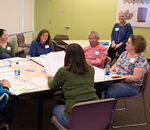 Adults participating in professional development