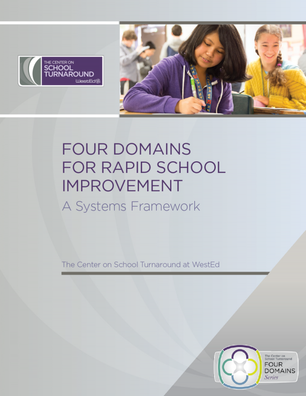 Four Domains for Rapid School Improvement: A Systems Framework