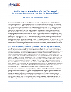 Quality Student Interactions: Why Are They Crucial to Language Learning and How Can We Support Them?