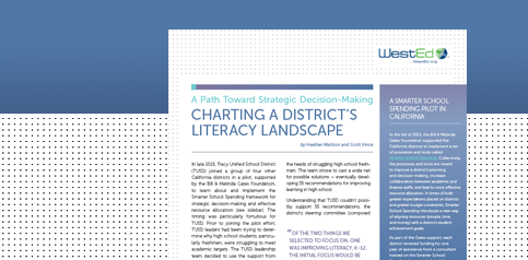 Charting District's Literacy Landscape