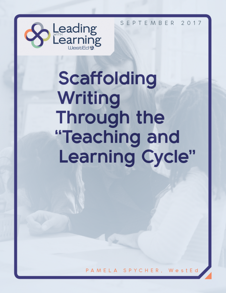 Scaffolding Writing through the Teaching and Learning Cycle