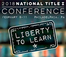 logo for 2018 National Title I Conference