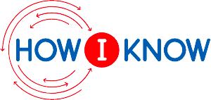 How I Know logo