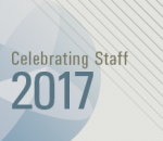 Celebrating Staff - Staff Awards 2017