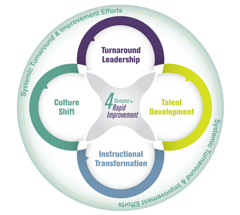 The Four Domains for Rapid Improvement