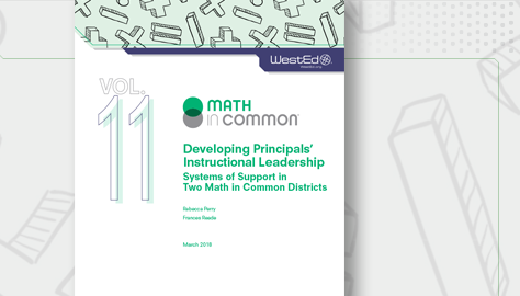 Math in Common Developing Principles