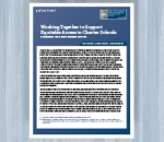 Working Together to Support Equitable Access to Charter Schools: Research and Recommendations