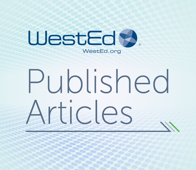 Published Articles by WestEd