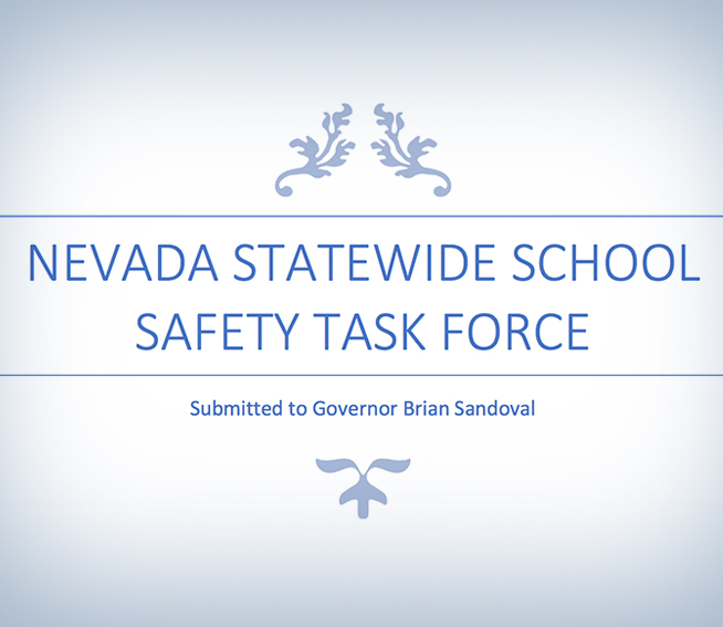 Nevada Statewide School Safety Task Force