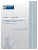 Putting Students First: Profiles of District-Charter Collaboration in the District of Columbia and Massachusetts