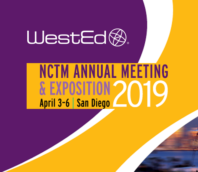 WestEd at NCTM