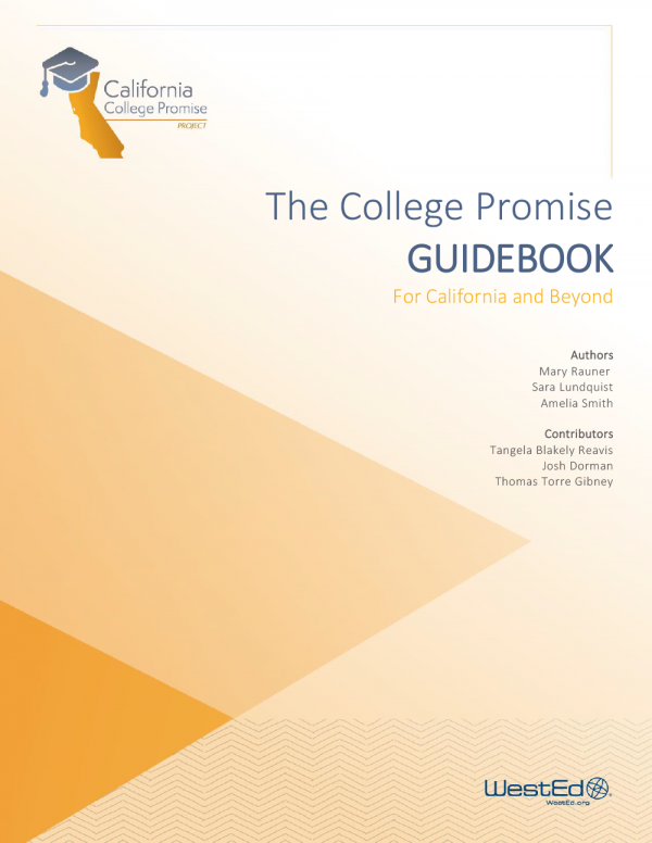 The College Promise Guidebook for California and Beyond