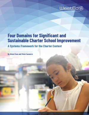 Four Domains for Significant and Sustainable Charter School Improvement: A Systems Framework for the Charter Context