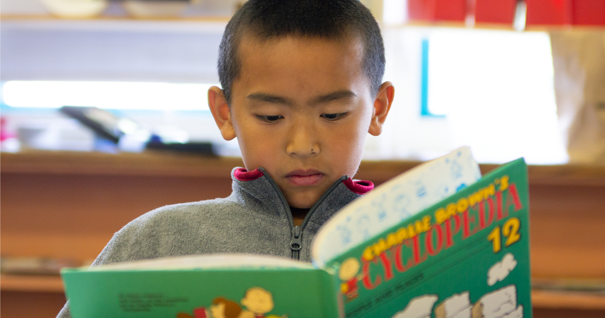 English Learner reading