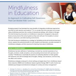 Mindfulness in Education
