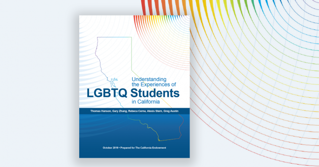 Understanding the Experience of LGBTQ Students in California