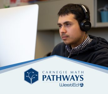 Carnegie Math Pathways - Student on computer