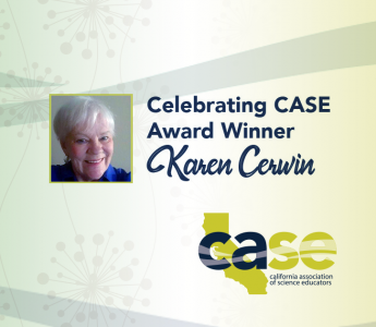 Karen Cerwin CASE Award Graphic