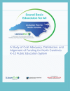 A Study of Cost Adequacy, Distribution, and Alignment of Funding for North Carolina's K–12 Public Education System report cover