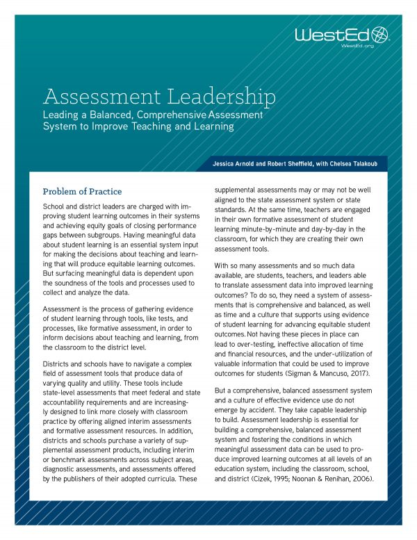 Assessment Leadership