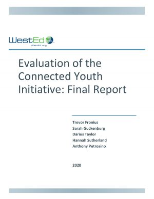 Evaluation of the Connected Youth Initiative