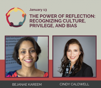 The Power of Reflection event graphic.