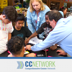 Comprehensive Center Network: Students being taught by teachers