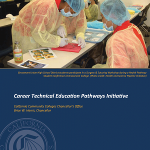 Cover image for 2013 Annual Career Technical Education Pathways Initiative Report