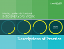 Cover for Moving Leadership Standards Into Everyday Work: Descriptions of Practice, Second Edition