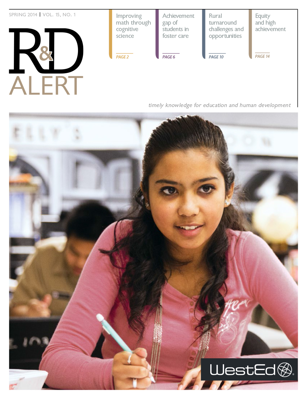 Cover image for R&D Alert Spring 2014 Vol 15, #1